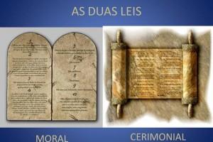 AS DUAS LEIS - Moral e Cerimonial
