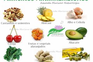 Dica de Saúde - Alimentos que funcionam como Anti-inflamatório Natural