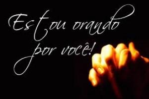 Estamos Orando por Você!