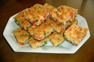 Torta Rápida Vegetariana
